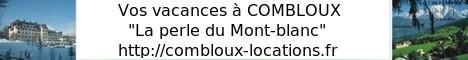 """Vos vacances � COMBLOUX """"la perle du Mont-blanc"""""""